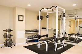 your own home gym  finished basements nj